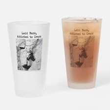 Unique Crack climbing Drinking Glass