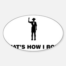 Boy-Scout-12-A Sticker (Oval)