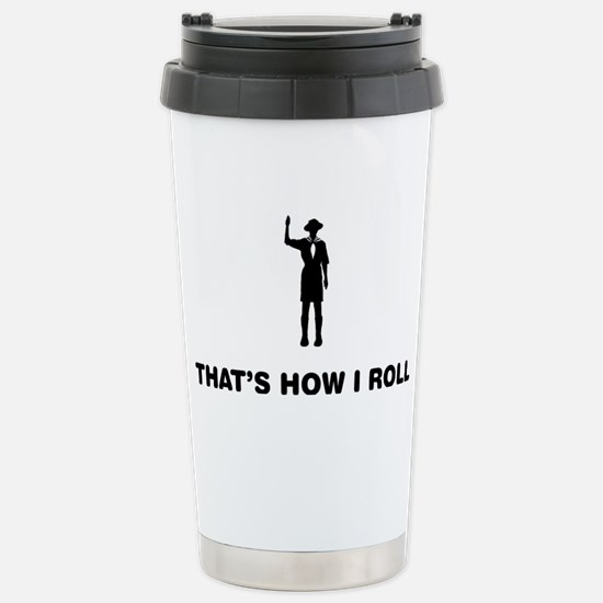 Boy-Scout-12-A Stainless Steel Travel Mug