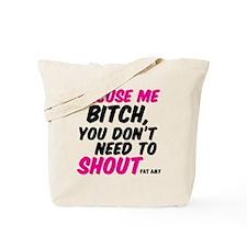 Shout Tote Bag