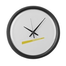 Police-Line-Do-Not-Cross-11-B Large Wall Clock