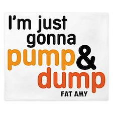 Pump and Dump King Duvet