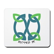 Blessed Be Celtic Mousepad