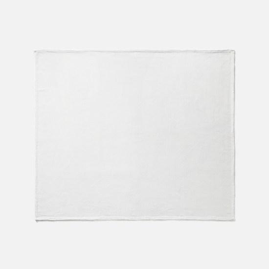 Bubble-Gum-Blowing-02-B Throw Blanket