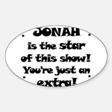 Jonah is the Star Oval Decal