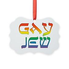 Gay Jew Ornament