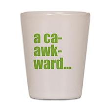 acaawkward - white Shot Glass