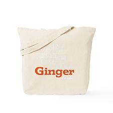 Ginger - White Tote Bag