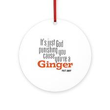 Ginger Round Ornament