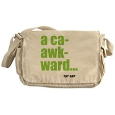 acaawkward Messenger Bag