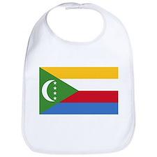 Comoros Flag T Shirts Bib