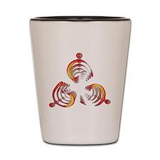 Trysim Magatama - Symbol of renewal Shot Glass