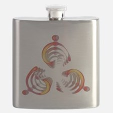 Trysim Magatama - Symbol of renewal Flask