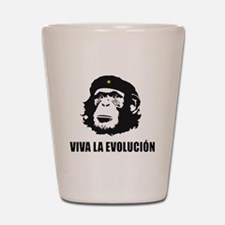 Viva La Evolucion Design Shot Glass