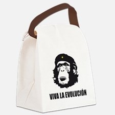 Viva La Evolucion Design Canvas Lunch Bag