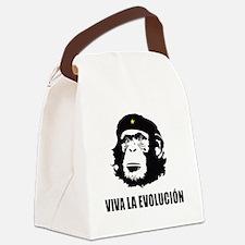 Viva La Evolucion Design Canvas Lunch Bag