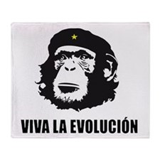 Viva La Evolucion Design Throw Blanket