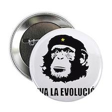 "Viva La Evolucion Design 2.25"" Button"