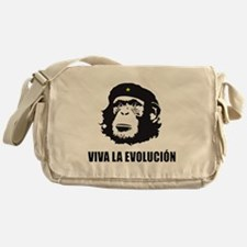 Viva La Evolucion Design Messenger Bag