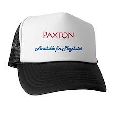 AvailableForPlaydates_paxton Trucker Hat