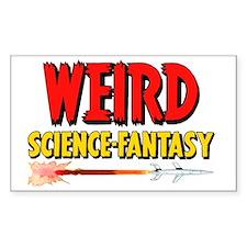 Weird Science-Fantasy scifi vi Decal