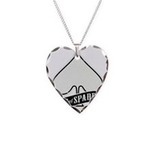 Ace of Spades Metal Rock 'n'  Necklace