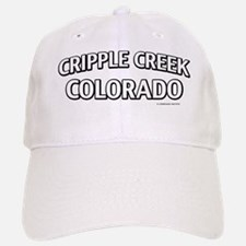 Cripple Creek Colorado Baseball Baseball Cap