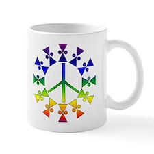 Anti-War Rainbow Symbol Mug