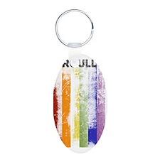 Spanish (Orgullo) Pride Wor Keychains