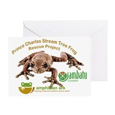 Prince Charles Stream Tree Frog Resc Greeting Card