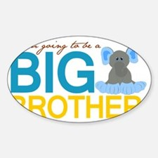 I am going to be a Big Brother Decal