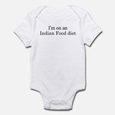 Indian Food diet Infant Bodysuit