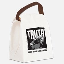 Truth by Elizabeth Warren Canvas Lunch Bag