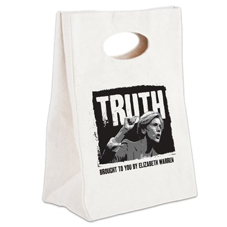 Truth by Elizabeth Warren Canvas Lunch Tote
