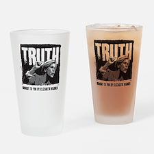 Truth by Elizabeth Warren Drinking Glass