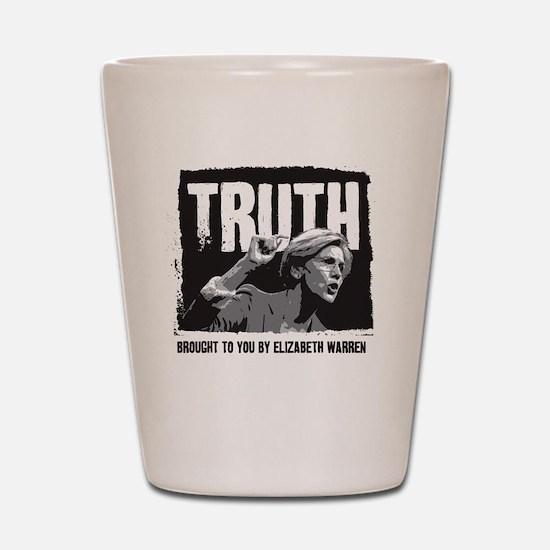 Truth by Elizabeth Warren Shot Glass