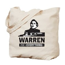 Elizabeth Warren for Everything Tote Bag