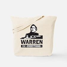 Elizabeth Warren for Everything Tote Bag