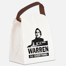 Elizabeth Warren for Everything Canvas Lunch Bag