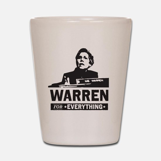 Elizabeth Warren for Everything Shot Glass