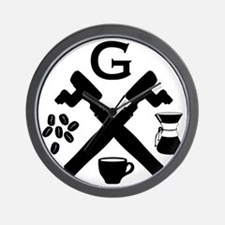 Grind Logo Wall Clock