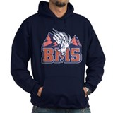 Blue mountain state black Hoodie (dark)