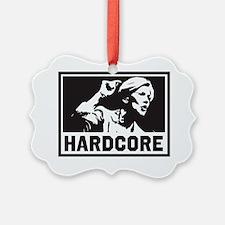 Elizabeth Warren Hardcore Ornament