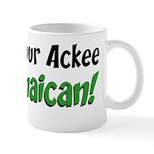 Bet Your Ackee Jamaican Mug