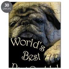 Worlds Best Pug Daddy Puzzle