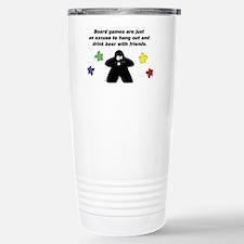 Meeple Text Travel Mug