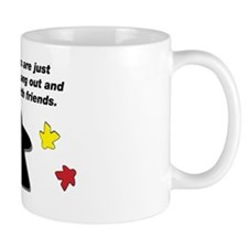 Meeple Text Mug