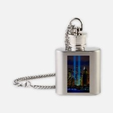 911 Never Forget Flask Necklace