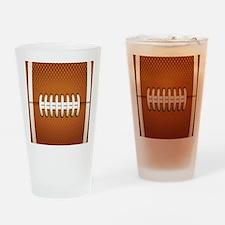Football Drinking Glass