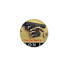Molon Labe even now Mini Button